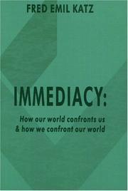 IMMEDIACY by Fred Emil Katz