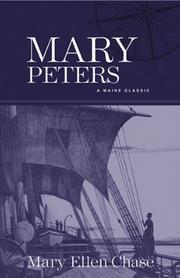MARY PETERS by Mary Ellen Chase