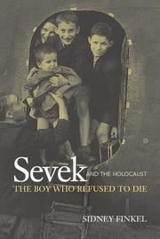 SEVEK AND THE HOLOCAUST by Sidney Finkel