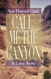 Cover art for CALL ME THE CANYON