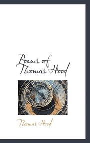 POEMS OF THOMAS HOOD by Thomas Hood