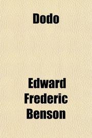 DODO by E. F. Benson