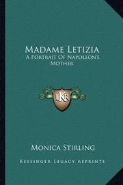 MADAME LETIZIA by Monica Stirling