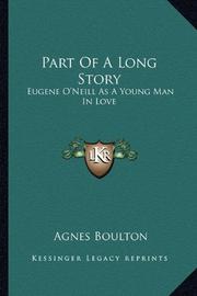 PART OF A LONG STORY by Agnes Boulton