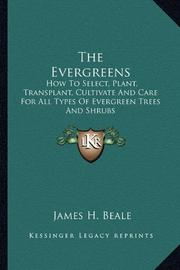 THE EVERGREENS by James H. Beale