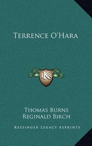 TERRENCE O'HARA by Thomas Burns