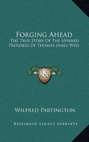 FORGING AHEAD by Wilfred Partington