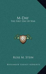 M-DAY by Rose M. Stein