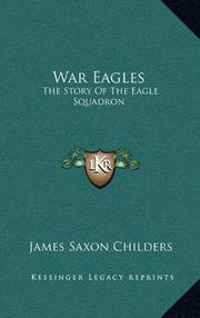 WAR EAGLES by James Saxon Childers