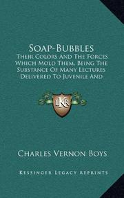 SOAP BUBBLES by C. V. Boys