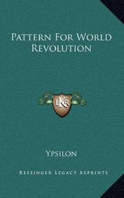 PATTERN FOR WORLD REVOLUTION by Ypsilon