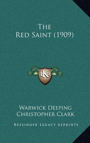 THE RED SAINT by Warwick Deeping