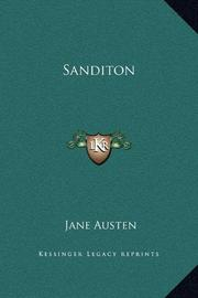 SANDITON by Jane & Another Lady Austen