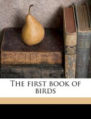 THE FIRST BOOK OF BIRDS by Margaret Williamson