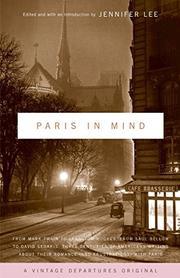 PARIS IN MIND by Jennifer Lee