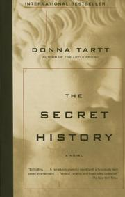 Cover art for THE SECRET HISTORY