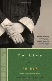 Book Cover for TO LIVE