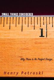 Cover art for SMALL THINGS CONSIDERED