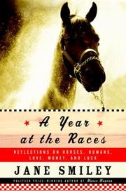Book Cover for A YEAR AT THE RACES