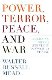 Book Cover for POWER, TERROR, PEACE, AND WAR