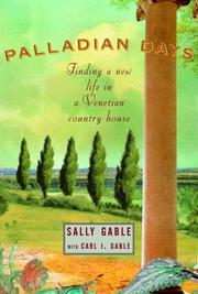 PALLADIAN DAYS by Sally Gable