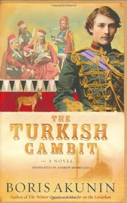 Cover art for THE TURKISH GAMBIT