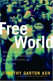 Cover art for FREE WORLD