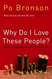 Cover art for WHY DO I LOVE THESE PEOPLE?
