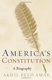Cover art for AMERICA'S CONSTITUTION