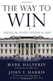 THE WAY TO WIN by Mark Halperin