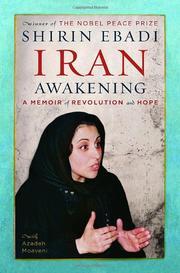 IRAN AWAKENING by Shirin Ebadi