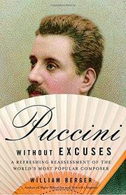 Cover art for PUCCINI WITHOUT EXCUSES