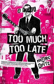 Cover art for TOO MUCH, TOO LATE