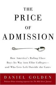 Cover art for THE PRICE OF ADMISSION