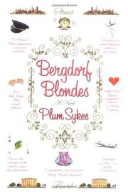Book Cover for BERGDORF BLONDES