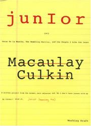 JUNIOR by Macaulay Culkin