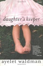 Cover art for DAUGHTER'S KEEPER
