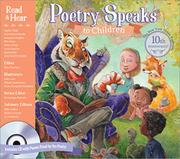 Cover art for POETRY SPEAKS TO CHILDREN