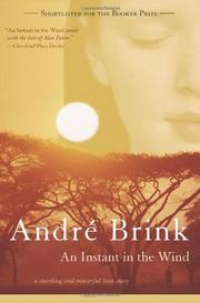 AN INSTANT IN THE WIND by Andre Brink