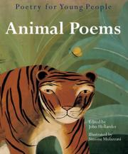Book Cover for POETRY FOR YOUNG PEOPLE: ANIMAL POEMS