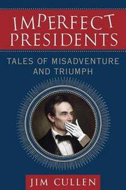 Cover art for IMPERFECT PRESIDENTS