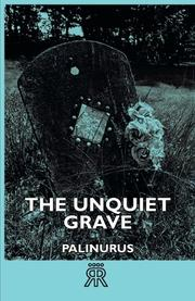 THE UNQUIET GRAVE by Palinurus