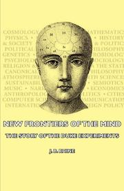 NEW FRONTIERS OF THE MIND: The Story of the Duke Experiments by J. B. Rhine