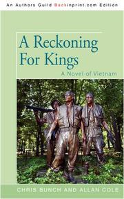 A RECKONING FOR KINGS by Chris & Allan Cole Bunch