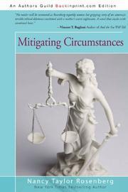 MITIGATING CIRCUMSTANCES by Nancy Taylor Rosenberg
