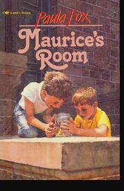 MAURICE'S ROOM by Paula Fox