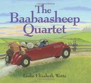 THE BAABAASHEEP QUARTET by Leslie Elizabeth Watts