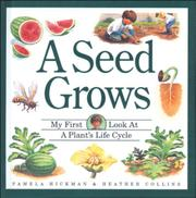 Book Cover for A SEED GROWS