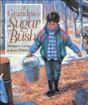 Book Cover for AT GRANDPA'S SUGAR BUSH