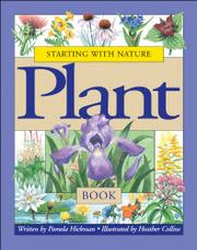 Cover art for STARTING WITH NATURE: PLANT BOOK